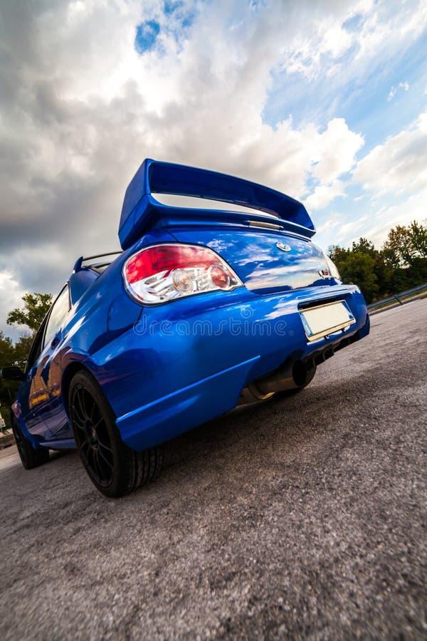 Versi?n 2007 del STI WRX de Subaru Impreza fotos de archivo libres de regalías