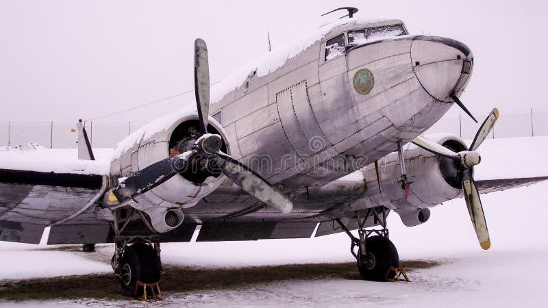 Versión del sueco del TP 79 del C-47 Skytrain de Douglas imagen de archivo