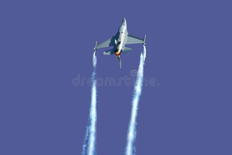 Versión parcial de programa F-16 imagenes de archivo