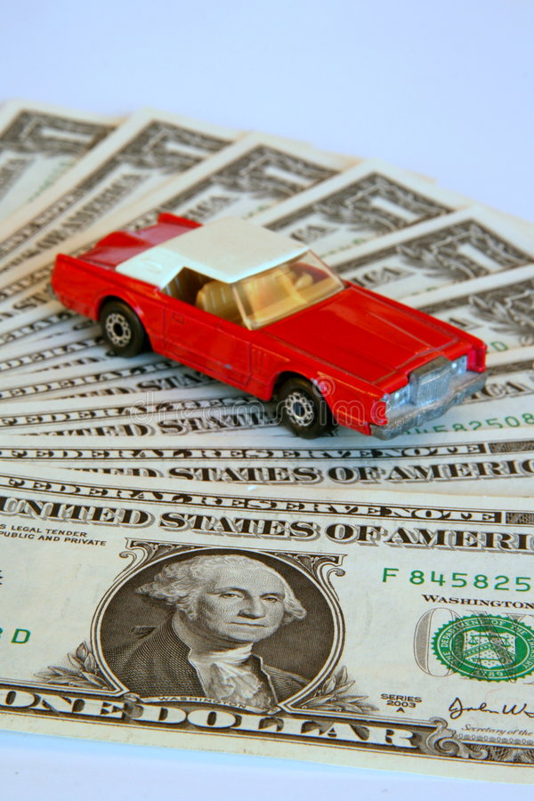 Versicherung Ihres Autos stockfoto