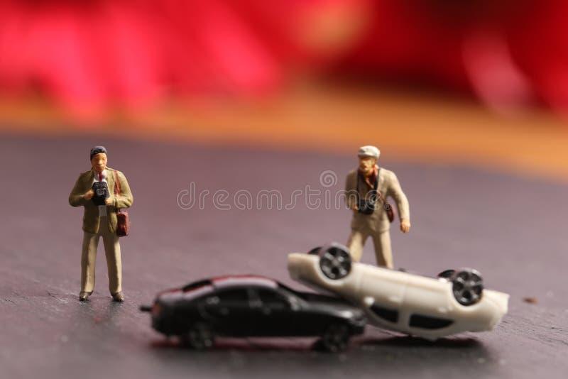 Versicherungsphotograph stockfotografie