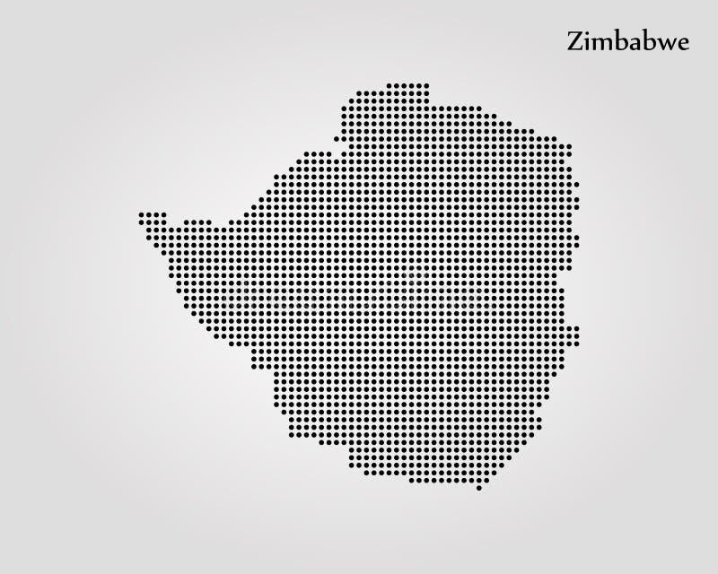 ?versikt zimbabwe ocks? vektor f?r coreldrawillustration gammal v?rld f?r illustration?versikt vektor illustrationer