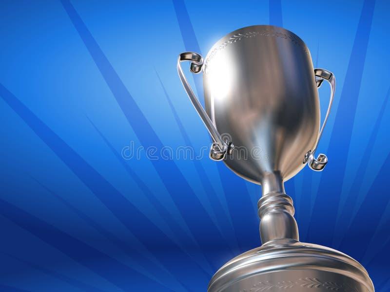 Versilbern Sie Cup vektor abbildung