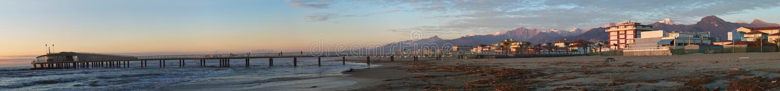 Download Versilia and Apuan Alps stock photo. Image of europe, season - 8003470