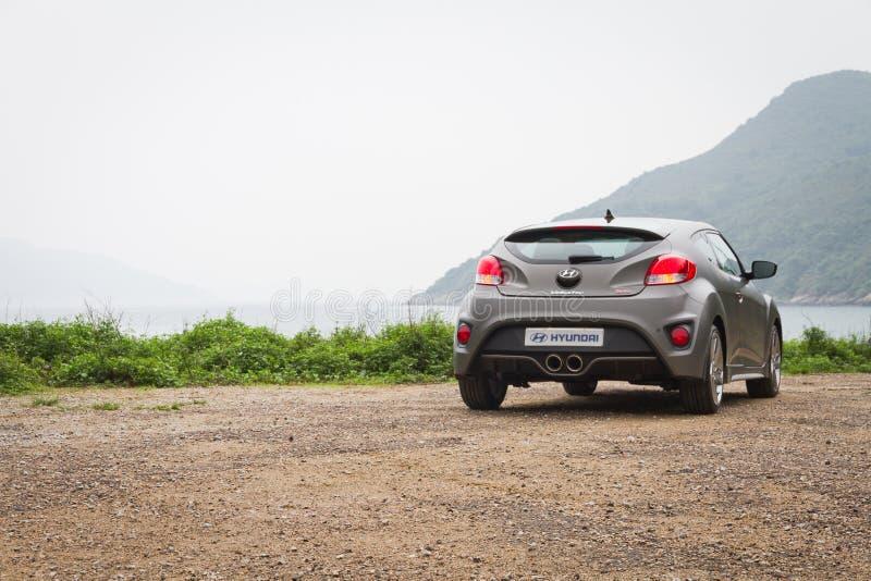 Version 2013 de Hyundai Veloster Turbo image stock