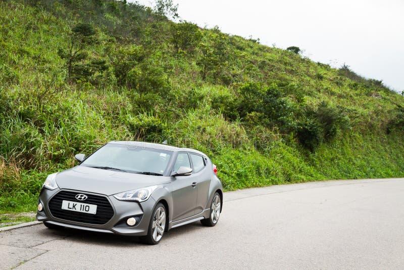 Version 2013 de Hyundai Veloster Turbo photos stock