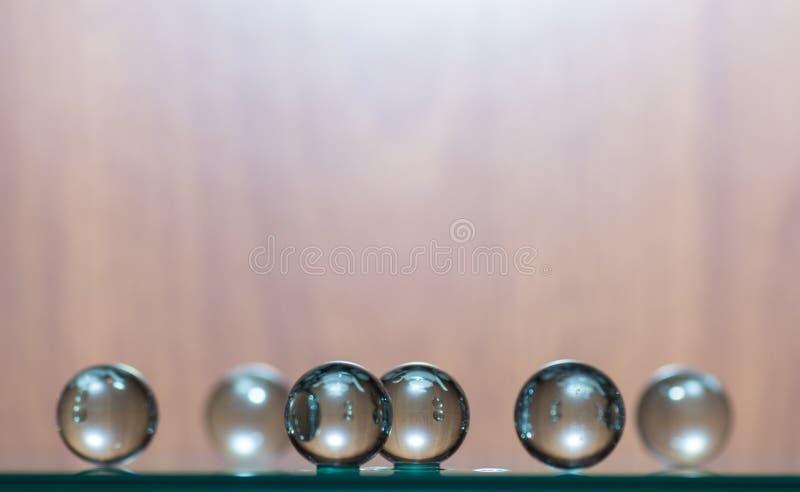 0 version för 8 tillgängliga spheres för eps glass arkivbild