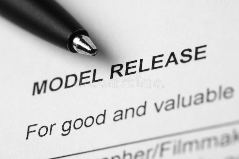 Versione di modello fotografia stock libera da diritti