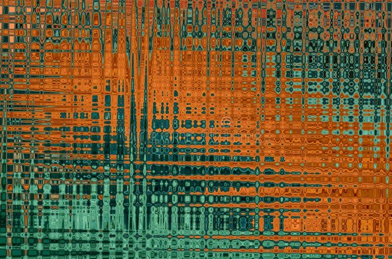Versioner av illustrationerna i olika färger arkivbilder