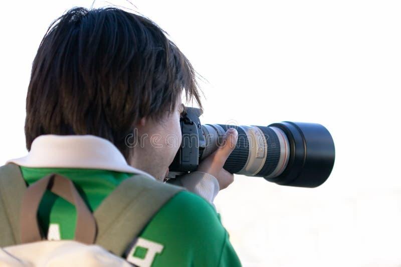 Verslaggever stock foto's