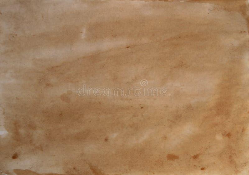 Versleten document textuur stock afbeelding