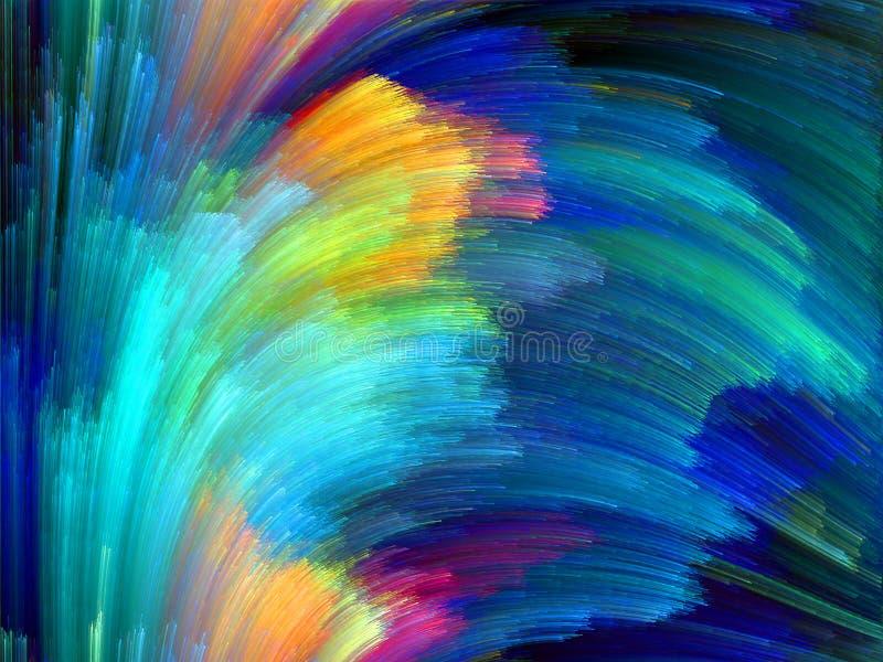 Versnelling van Kleur stock afbeelding