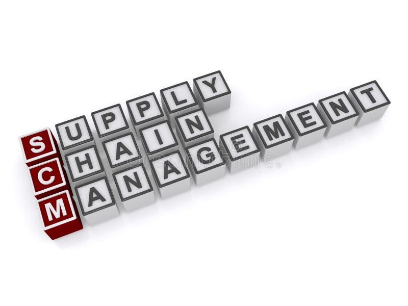Versorgungskettemanagement stock abbildung