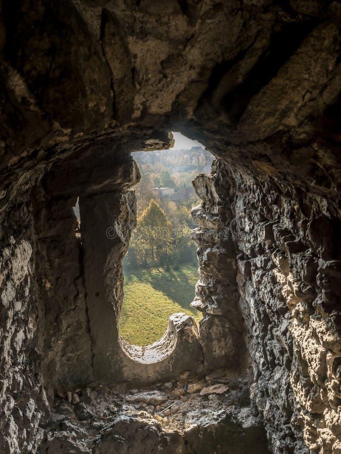Verstärkter Wand Embrasure lizenzfreies stockfoto