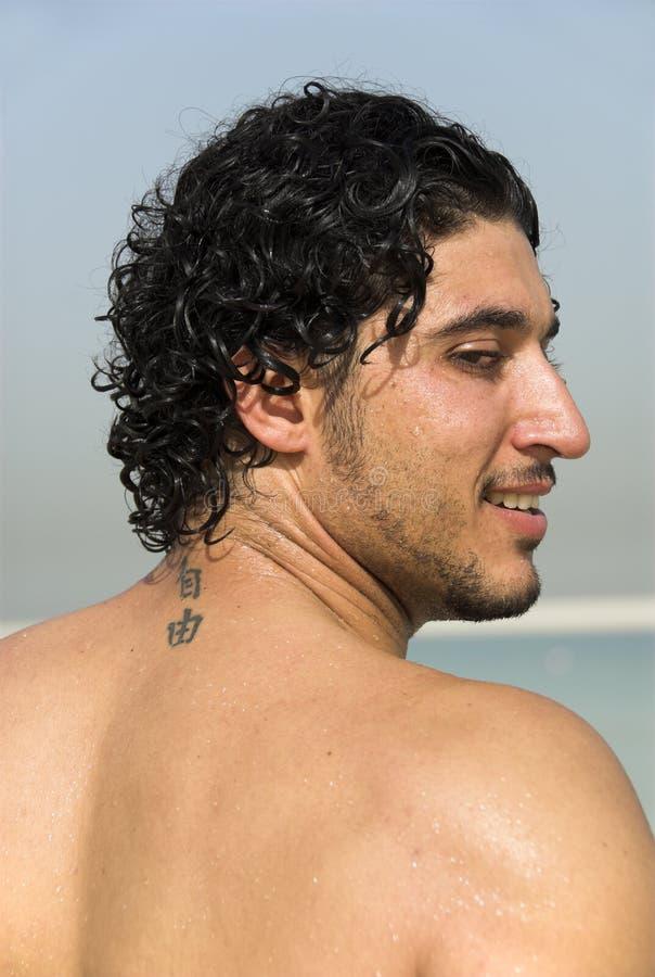 Verstecken Sie das tatoo lizenzfreie stockfotos