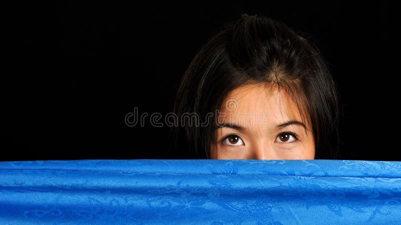 Verstecken von der Ansicht lizenzfreies stockfoto