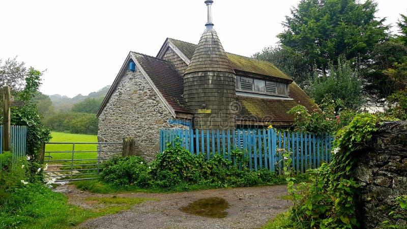 Versteckte Gebäude im Plymouth Devon lizenzfreies stockbild