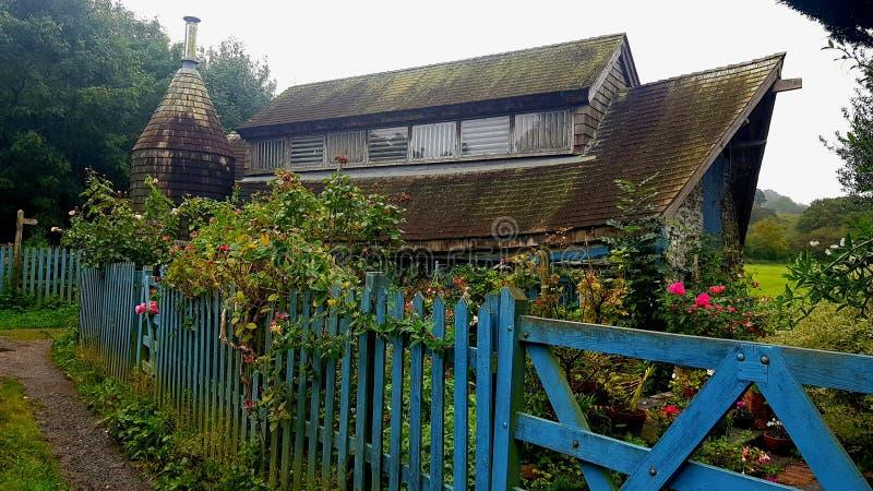 Versteckte Gebäude im Plymouth Devon stockbild