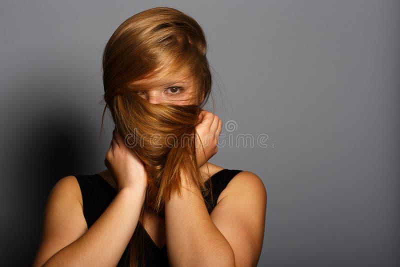 Versteckte Schönheit stockfoto