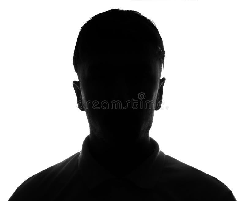 Verstecktes Gesicht stockfotos