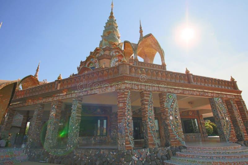 Verstecktes Glas Pha Pha (Wat Pha Kaew) stockbilder