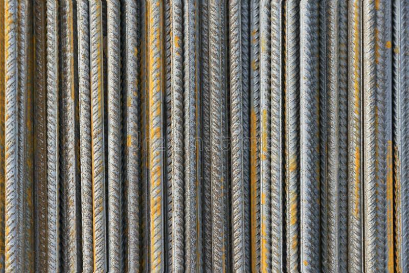 Versterk de staaf van het staalijzer royalty-vrije stock afbeeldingen
