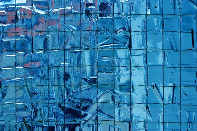 Versterkt mozaïekglas stock afbeeldingen