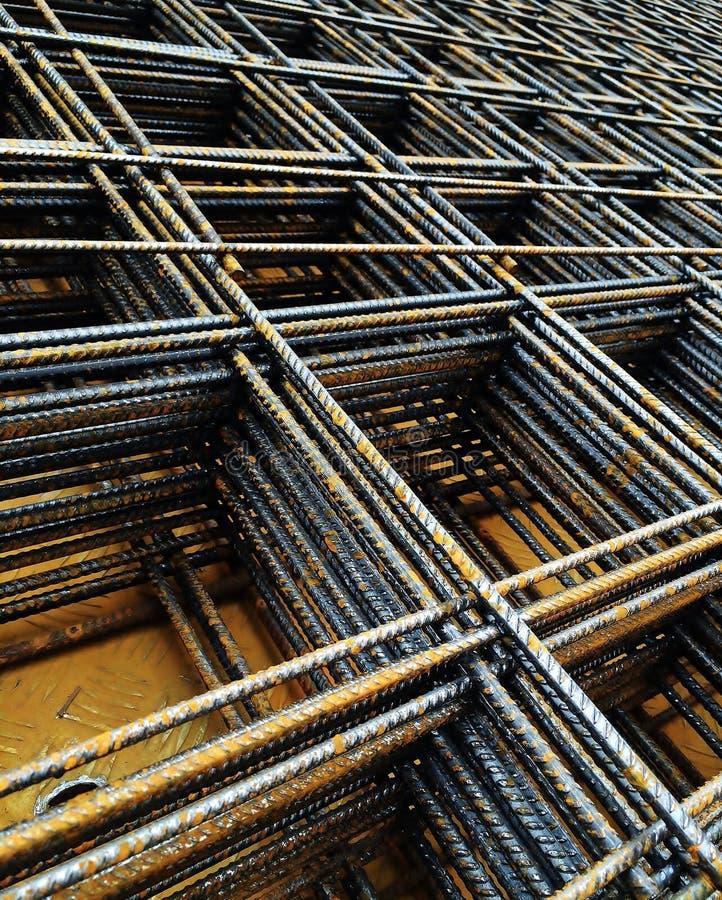 Versterkt staal royalty-vrije stock foto