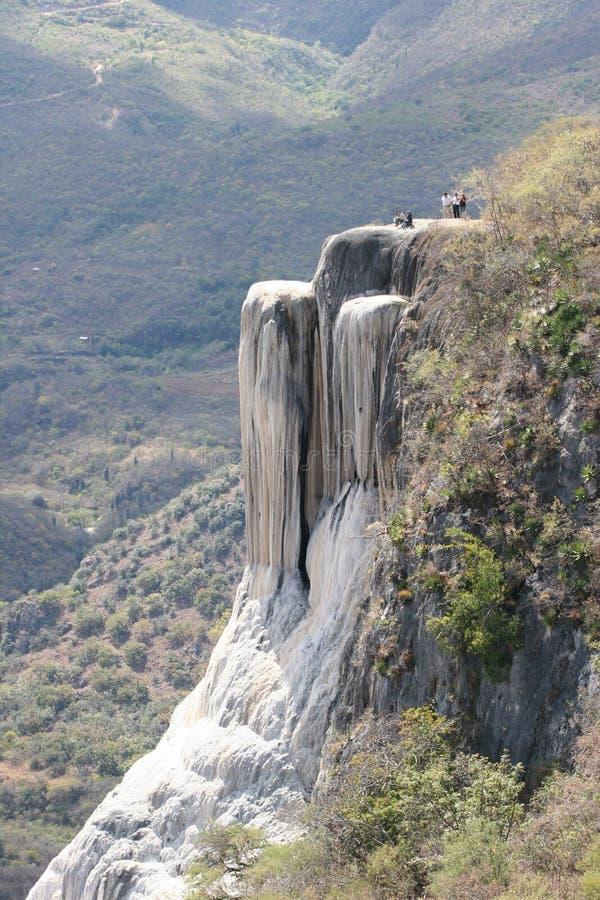 Verstijfde van angst cascade stock afbeeldingen