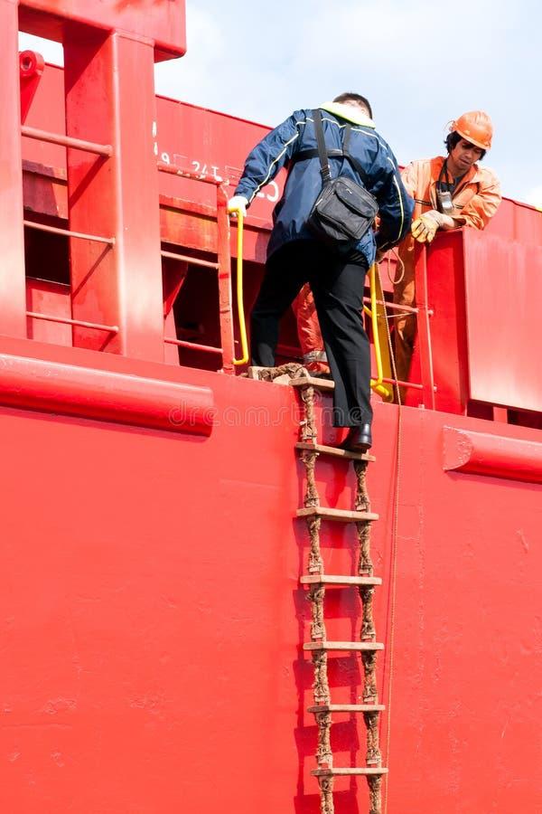 Versuchsschiff stockfotografie