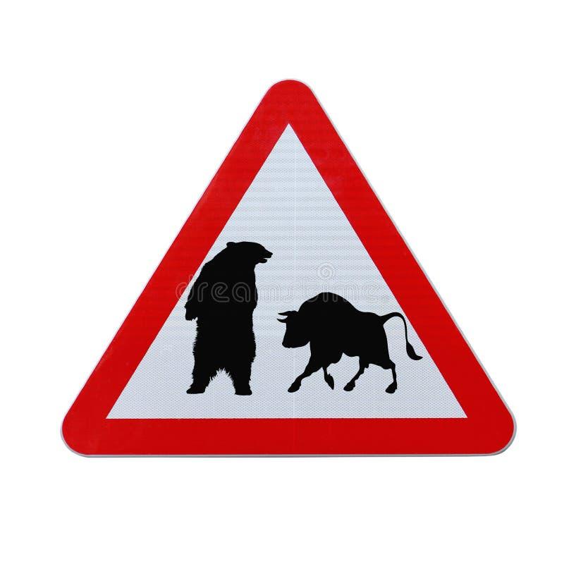 Download Versus niedźwiadkowy byk obraz stock. Obraz złożonej z odosobniony - 25008631