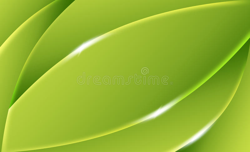 Vert abstrait de fond illustration stock