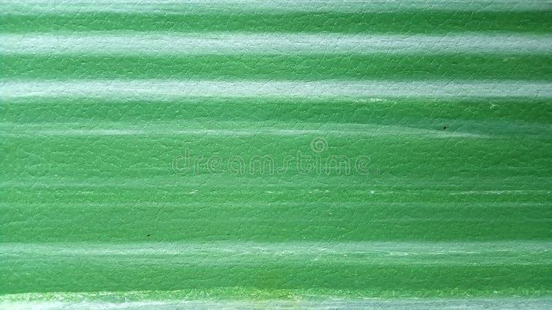 Vert abstrait de texture de fond et gradient horizontal blanc léger de rayures photo stock