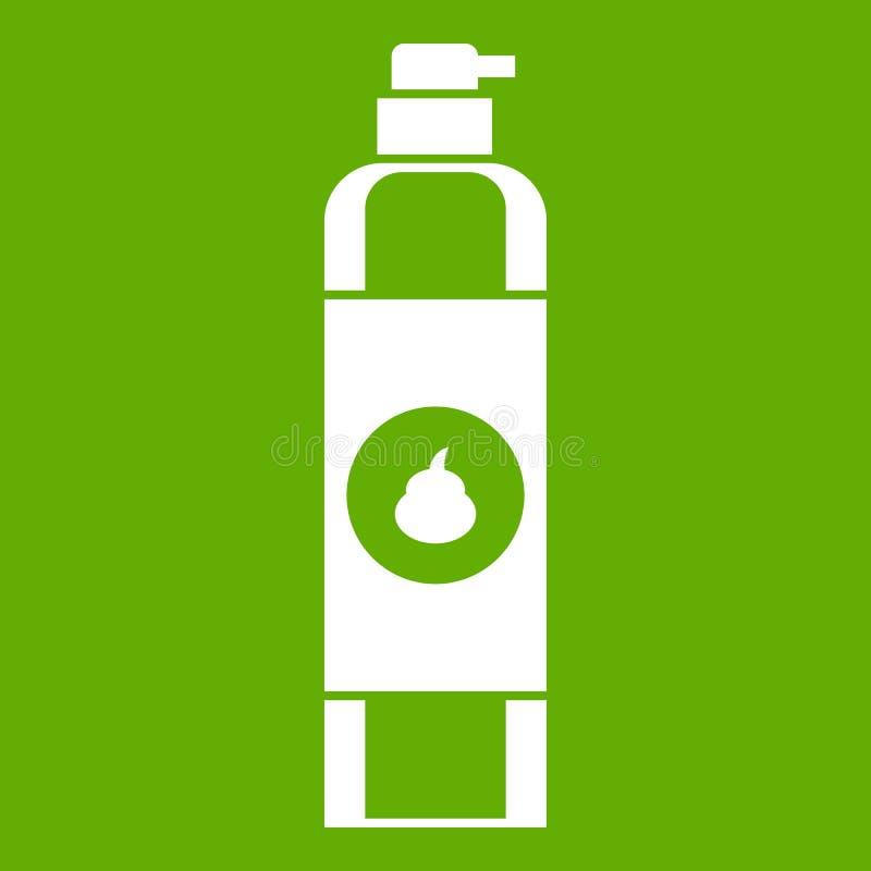 Vert d'icône de parfum d'ambiance illustration stock