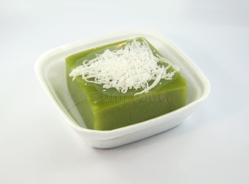 Vert de dessert avec pandan photos libres de droits