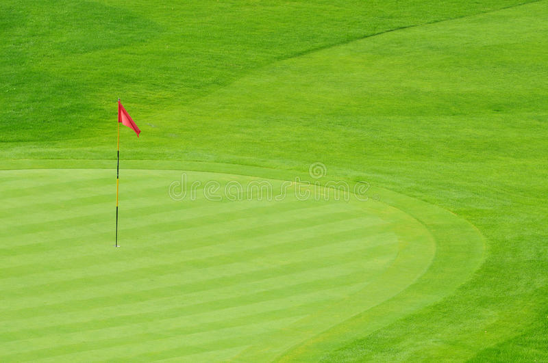 Vert de golf photo libre de droits