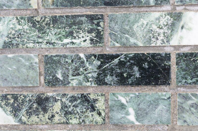 Vert de mur de malachite pour le contexte photo libre de droits