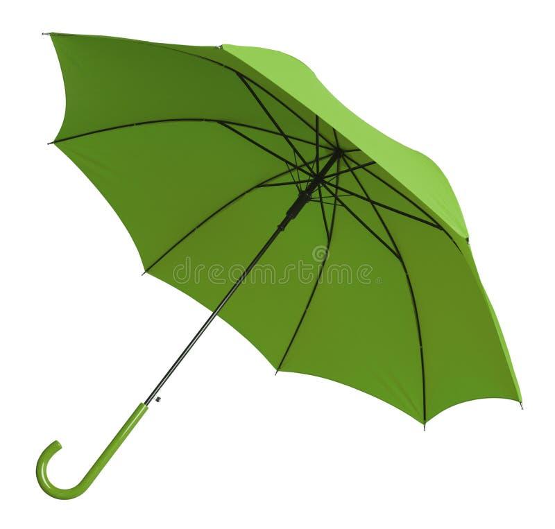 Vert de parapluie photo stock