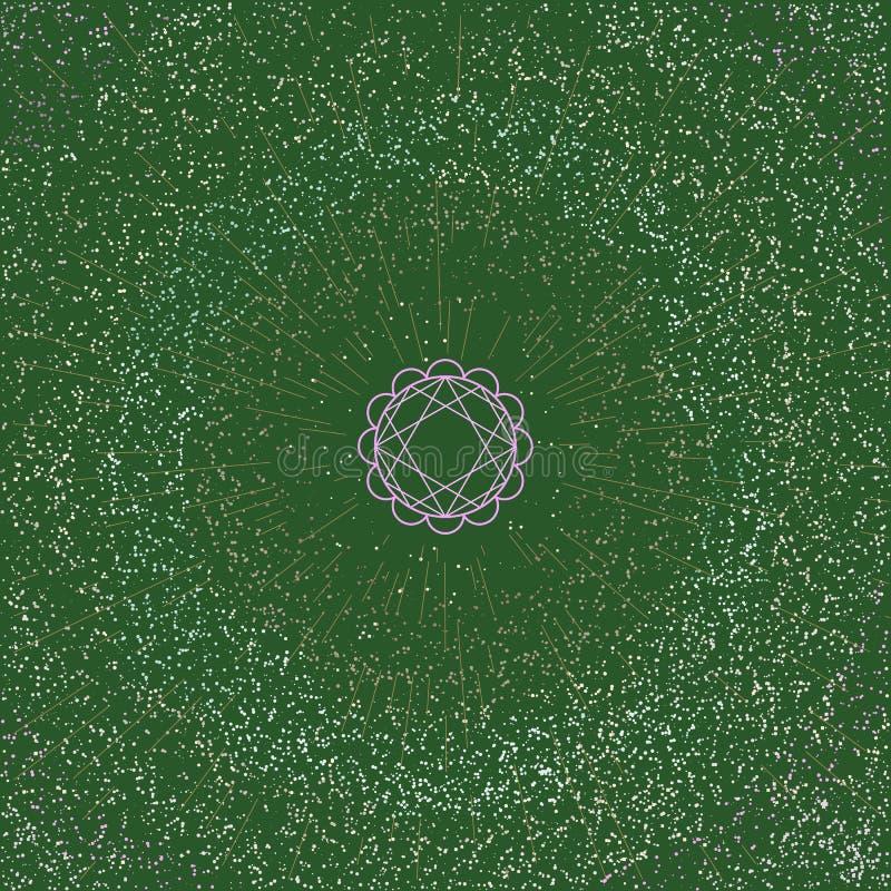 Vert de planète image stock