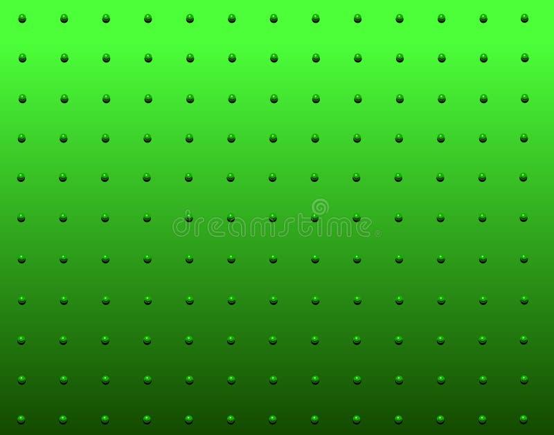 Vert de rivet illustration stock