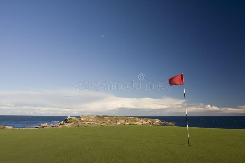 Vert de terrain de golf en stationnement national de compartiment de botanique photo libre de droits