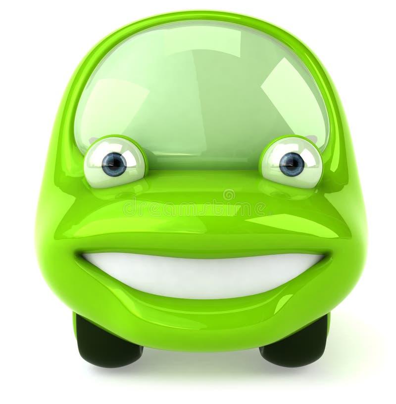 vert de véhicule illustration libre de droits