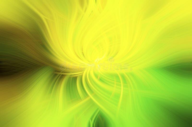 Vert et jaune abstraits de fond photo libre de droits