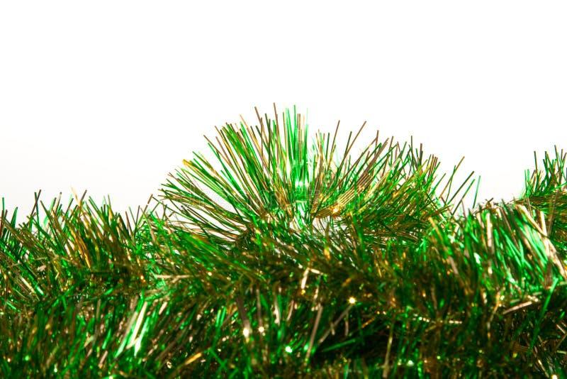 Vert et tresse d'or image libre de droits