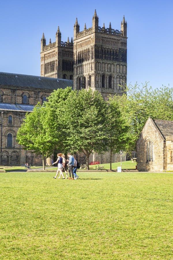 Vert R-U de palais de ville de Durham image libre de droits