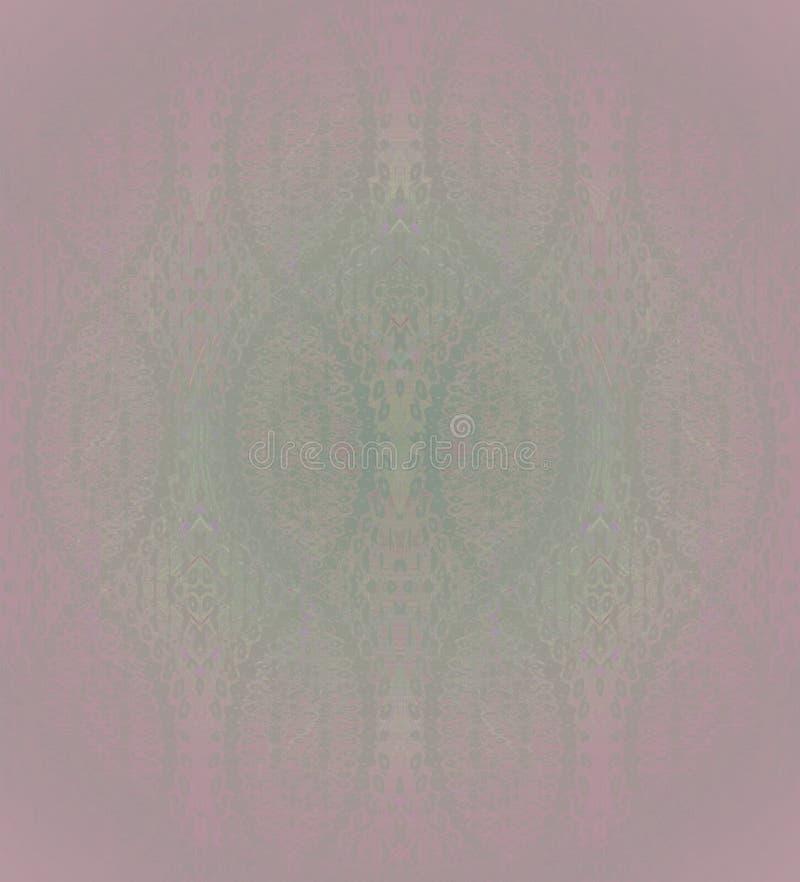 Vert violet de modèle sans couture d'ellipses illustration libre de droits