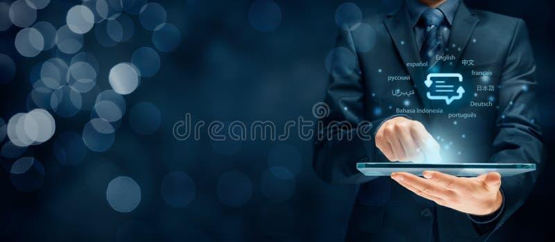 Vertalersapp concept royalty-vrije stock afbeeldingen