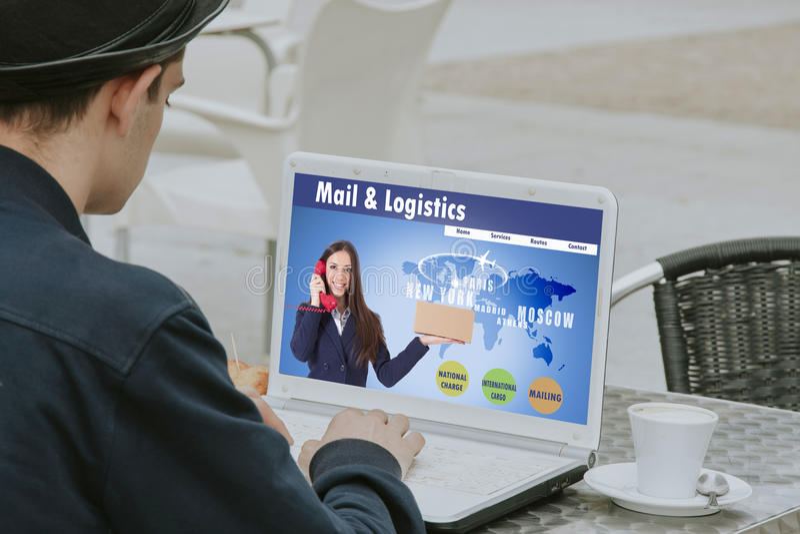 Verteilung und Transport lizenzfreie stockbilder