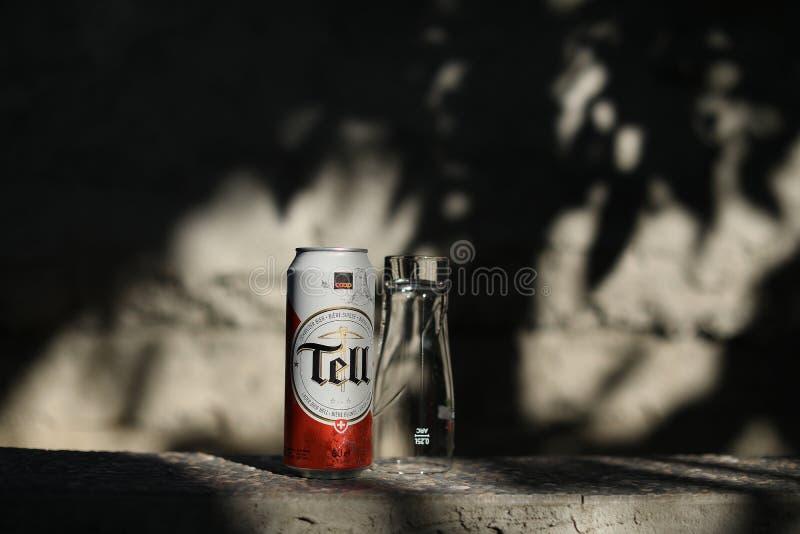 Vertel bier stock afbeeldingen