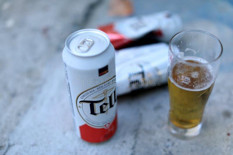 Vertel bier stock foto